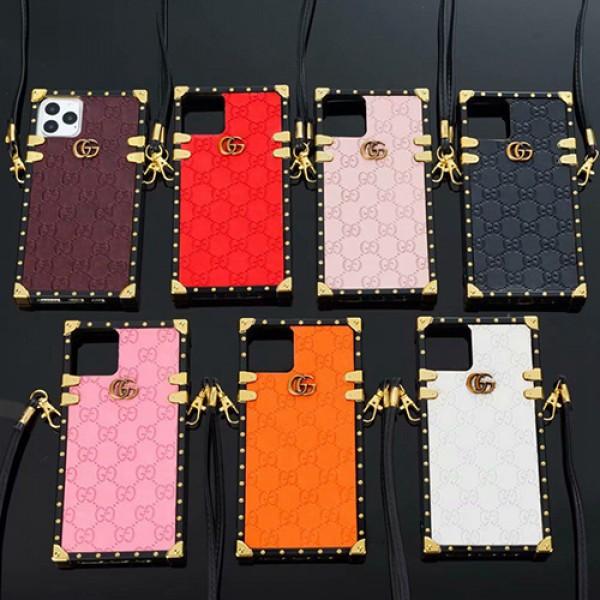グッチ トランク IPHONE 13 12 11 pro max xr  xs maxブランドケース Gucci 偽物 13 12 XR アイフォン13 ミニケース モノグラム セレブ愛用  アイトランク