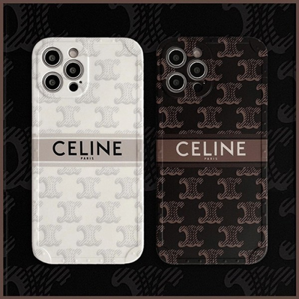 celine パロディ iphone13 pro max miniケース メンズ ブランドアイフォン13/12/12proケース セリーヌ