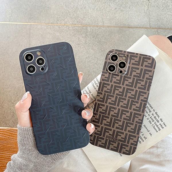 ハイブランドiphone13 12 pro max 13 miniケース FF fendi柄 フェンディ コピーiphone 13/12 pro/11 pro max xs/8/7 plusカバー メンズ レディース 韓国風