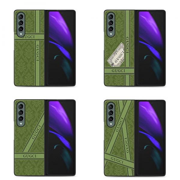 galaxy z flip 3 z fold3ケースグッチ ギャラクシー ゼット フリップ3 5g ケースau SC-55B  SC-54B  SCV47 SCG04Samsung 折りたたみスマートフォン Galaxy ZFlip 5g ハイブランドスマホケース