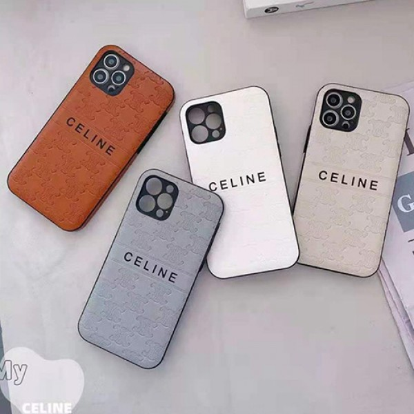 celineブランドiphone13/12/12pro max/12miniケース お洒落人気iphone11/11 pro maxスマホケース 経典高級iphonex/xr/xs maxケース