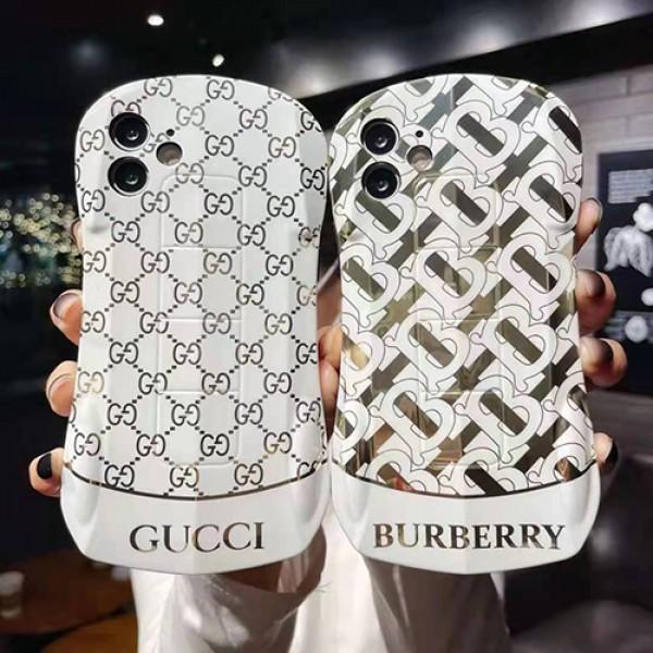 LV Gucci iphone12 mini/12 pro maxケースハイブランド Loewe Burberry iphone se2/xs maxカバー 革製男女ペアお揃い