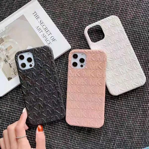 MK iphone12 mini/12 pro maxケースハイブランド男女ペアお揃いおしゃれ大人気 携帯 iphone 11/x/8/7ケース多機能