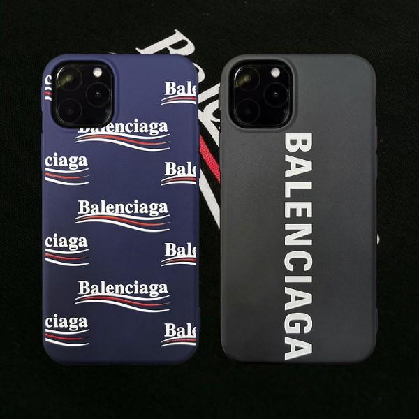 バレンシアガ iphone 11/11pro maxケース iPhone12 pro max iPhone12 mini iPhone se 第2世代 iPhone11 Pro iPhone8 7 se2 iphone xr/xs maxケース iphone x/8/7 plusケースファッション大人気 ビジネス風