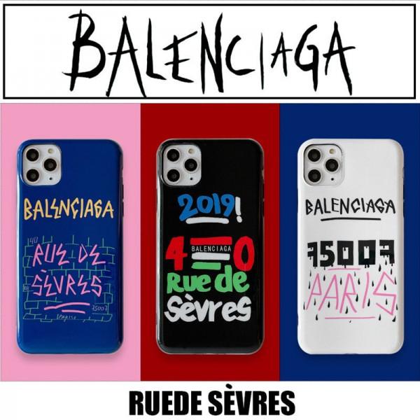 Balenciaga ブランド iphone12mini/12pro maxケース かわいい男女兼用人気ブランドiphone 11/x/8/7ケースアイフォン12カバー レディース バッグ型 ブランドiphone 12ケース ファッション