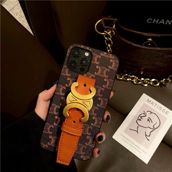 Celine/セリーヌ 可愛いビジネス風財布型ファッション メンズ レディースiphone 12 mini/12 pro max/11 pro max/se2ケース