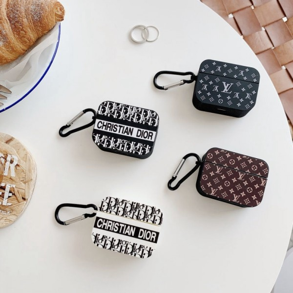 Lv ルイヴィトン Airpods pro3ケース メンズ レディースAir pods proケース保護 軽量Air pods1/2ケース 防塵 落下防止