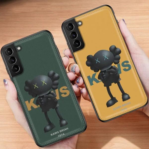 KAWS ブランドgalaxy s21/s21ultra/note20 かわいいins風 かわいいモノグラム iphone12/12pro maxケース ブランド Galaxy note20/s20/s10+ ースiphone x/8/7 plusケース大人気