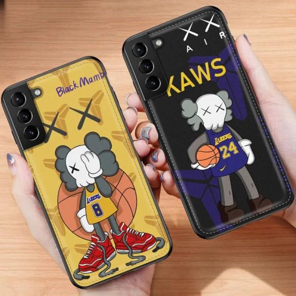 KAWS ins風 Galaxy s21/S21+/s20+ note20ケースかわいいメンズ iphone12/12pro maxケース 安いアイフォン12カバー レディース バッグ型 ブランドiphone XS/SR/11PROMAXケース ファッション