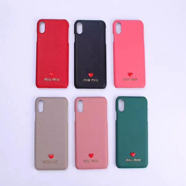 ミュウミュウ iphone 11/11 pro/11 pro max/se2ケース Miu Miu かわいい レザー 高弾性 ソフトケース MIUMIU 四角保護 耐衝撃 アイフォンx/xs/xr/8/7/6カバー 女性愛用 レディース