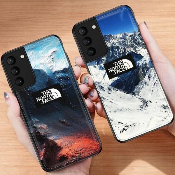 TheNorthFace ブランド galaxys21/S21+/note20 s10/s9plusケース かわいいiphone12/12pro maxケース ビジネス ストラップ付きメンズ iphone11/x/8/7ケース 安いモノグラム