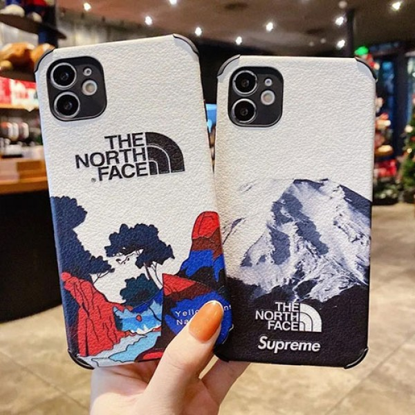 TheNorthFace galaxy s21/s21ultra iphone12/13/11 pro maxケース激安コピーハイブランドおしゃれストラップ付ファッション メンズ レディースiphone11promax/se2/xsmaxケース