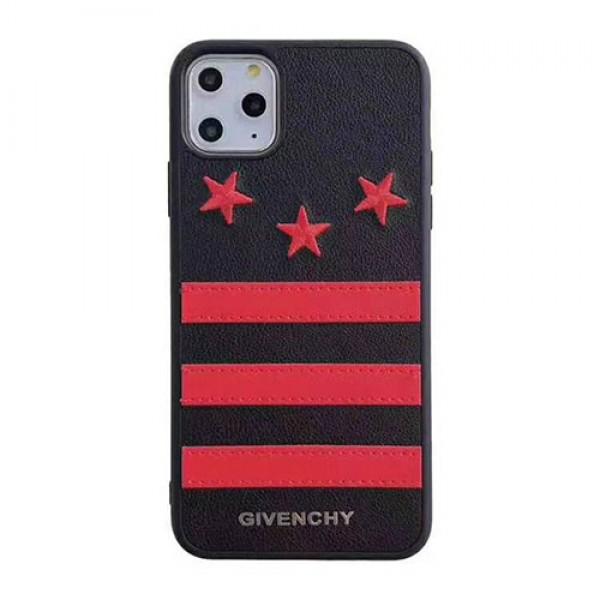 Givenchy ジバンシー iphone12/12pro max/12pro/12 miniケースブランド iphone xr/xs maxケース独特高級iphone x/8/7ケース 五芒星 ファッション大人気