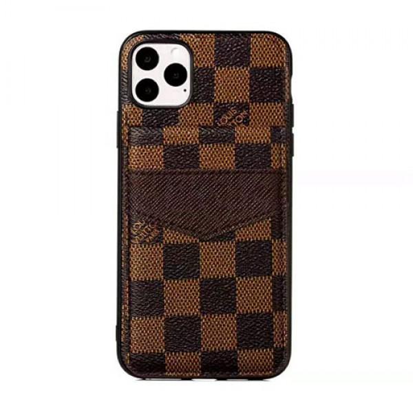 ルイヴィトングッチ iphone12/12pro max/12mini galaxy note20ケース ブランド iphone xr/xs maxケースビジネス風galaxy S20/s10/s9/note10 plus/note20ケース カードポケット付きアイフォン x/8/7 plusケース オシャレ男女兼用