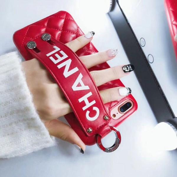 シャネル iphone12 mini/12ro maxケース ブランド iphone12 pro/xr/xs maxケースレディース向け iphone 11/12/se2/x/8/7 plusケースオシャレ菱形 ファッションハンドベルト付き