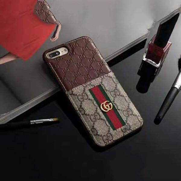 グッチ iphone12/12pro max galaxy note20ケースブランド iphone xr/xs maxケース背面カード入れ Galaxy s10/s9/note10ケース高級 アイフォン x/8/se2/7 plusケースファッションオシャレ花柄