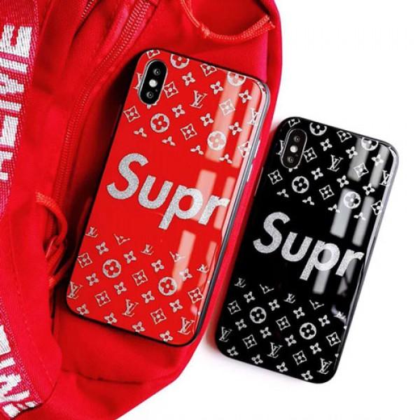 シュプリーム とLVコラボ galaxy s20 ケースIphone12/12mini/12promaxケース Supreme IphoneX/xr/xs max/11pro max/se2カバー ブランドgalaxy s20/s10/s9 plusケースルイヴィトン Iphonexs Plus Iphone6/6sケース