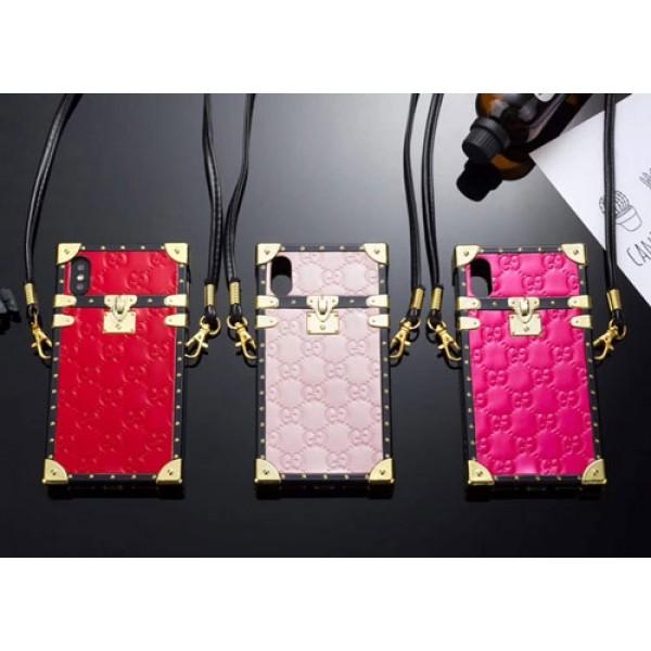 Gucci アイトランクiphone 12/12 pro/12 mini/12 pro maxブランドgucci iPhone xs/xs plusケース グッチ Iphone9/x/8/7 plusスマホケース Iphone6/6s Plus Iphone6/6sカバー ジャケット ストラップ付き 箱デザイン