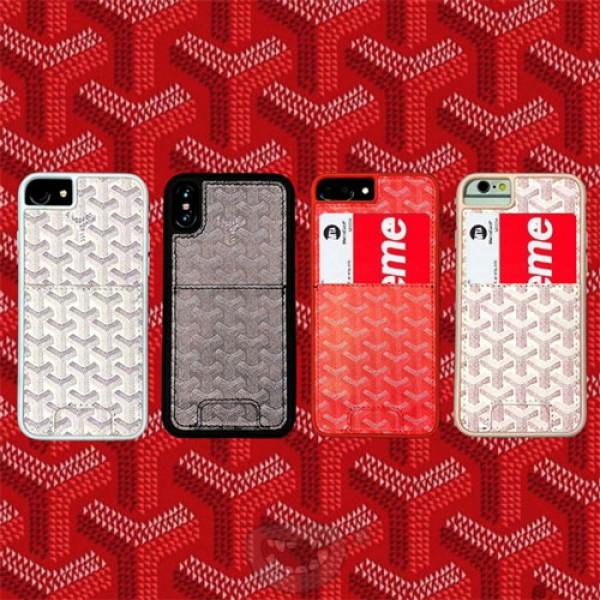 goyard iPhone12 2020ケース ゴヤール iphone 8/7/12pro maxスマホケース ブランド Iphone6/6s Plus Iphone6/6sカバー ジャケット カード入れ 新設計