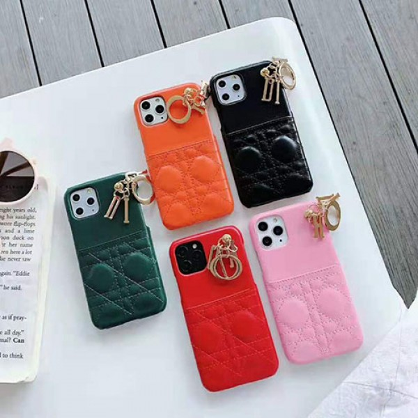 ディオール iphone11/11pro/11pro maxケース女性向けブランドdior iphone xr/xs maxケース 背面カード入れ iphone x/8/se2/7 plusジャケットケース オシャレ優雅