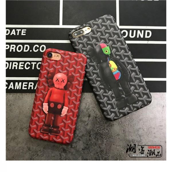 goyard iPhone 11pro/xr/xs max/xsケース ゴヤール iphone x/12pro max/8/7/6スマホケース ブランド Iphone6/6s Plusカバー ジャケット 個性 恐怖
