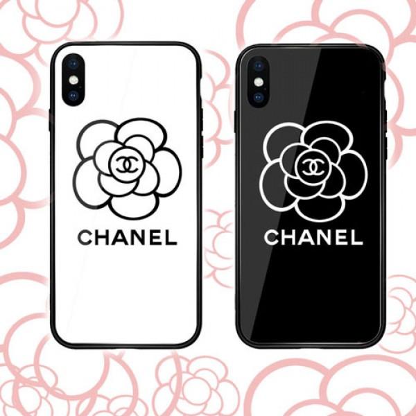 シャネル chanel iphone12/12mini galaxy note20 xperia 1/10 II ケース 花絵柄ブランドgalaxy s20/s10/s10e/s9 plus/note10ケースアイフォン x/8 plusケース おしゃれiphone 8/7plusケースファッションシンプル レディス向け 全機種対応