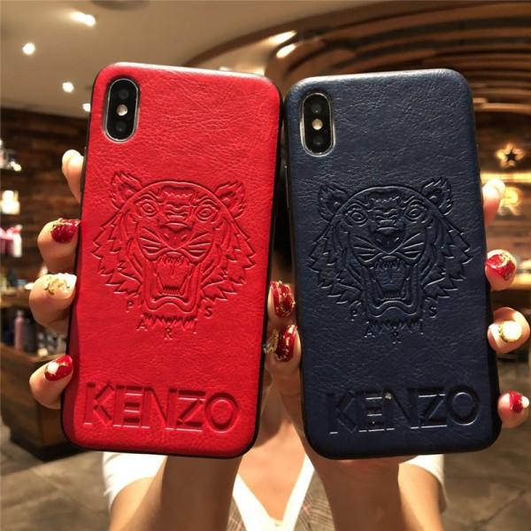 ケンゾー KENZO iphone xr/xs max/11/11pro maxケース アイフォンx/xsケース ブランド虎頭付き iphone se2/8/7 plusケース オシャレカッコイイ iphone6/6s plusケース ファッション人気