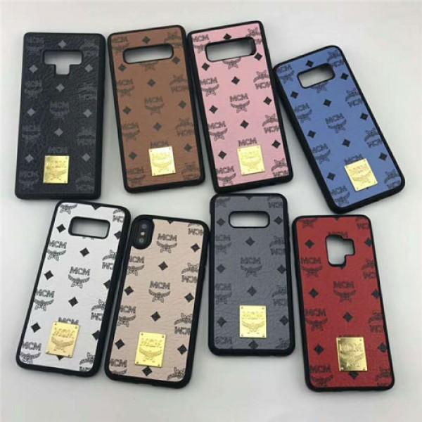 MCM エムシーエム Galaxy s10e/s10 plusケース iphone xr/xs max/se2/12proケースgalaxy s9/s8 plusケースブランド 経典 ギャラクシー note9/note8ケースファッション大人気