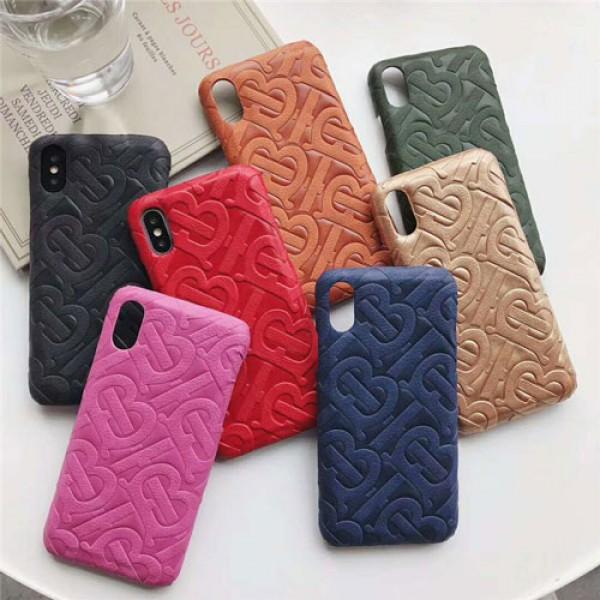 バーバリーIphone11/11pro Max/se2ケース 人気Iphone Xr/Xs Max/x/8ケース Galaxy S10/S9/Note10 Plusケース バーバリーhuawei p30 proケースオシャレ 大人気