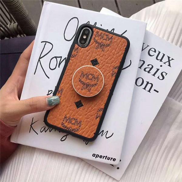 MCM iphone xr/xs max/11 pro maxケース エムシーエムiphone 12 2020カバーエアバッグブラケットアイフォンse2/ 8/7 plusケースオシャレ 可愛い