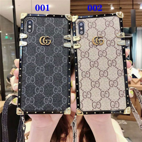 iphone 12/12 proグッチ galaxy s10e/s10+ケース ブランド iphone xr/xs maxケース トランクギャラクシーs10/s9 plusケースストラップ付きアイフォン x/8/7 plusケースメンズレディース向け