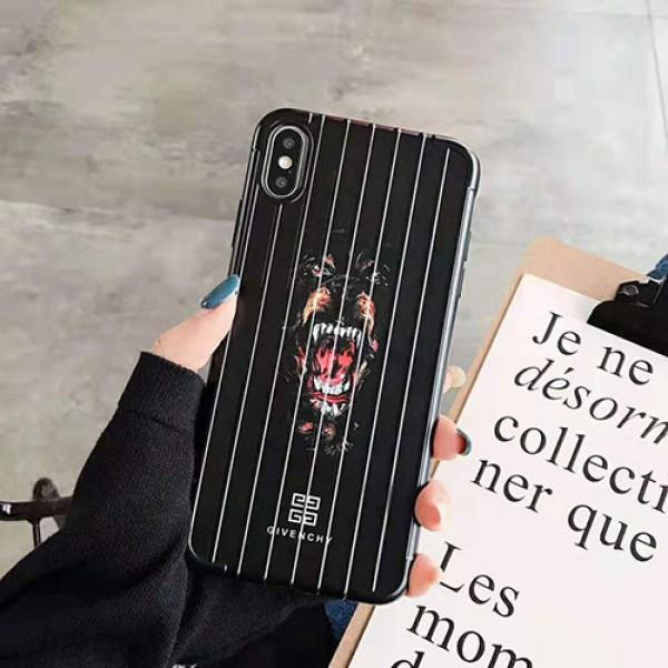 GIVENCHY ジバンシー iphone 11/11proMAX/11Rケース ブランド iphone xr/xs maxケース サメ犬花柄プリント iphone x/12/8/7 plusカバー 高品質 オシャレ