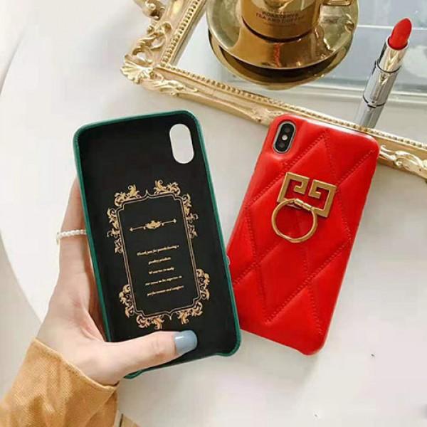 ジバンシー iphone 12 mini/12 pro max/12 pro/11pro maxケースブランド iphone xr/xs maxケース 高級レディース向け iphone x/se2/8/7 plusケースリング スタンド機能付き