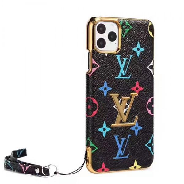 ルイヴィトン iphone12/12pro maxケース人気新品ブランド iphone xr/xs maxケースジャケットお洒落モノグラムダミエ iphone x/10ケースアイホン 8/7 plusケースファッションストラップ付き