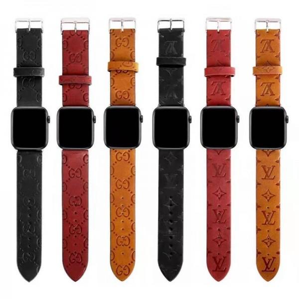 GUCCI / LV ブランドアップルウォッチバンドApple Watch 6/5/4/3ベルト 交換用アップルウォッチ6/se 2020 バンド ブランド レディースビジネスマン用高級Apple Watch 6/5/4/3ブランドバンド本革