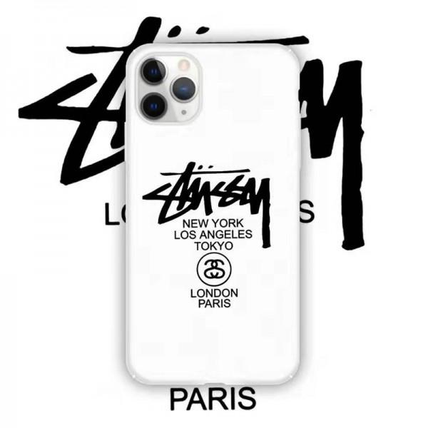 stussy ステューシー iphone11/11pro/12pro maxケース個性潮流男女兼用アイフォンiphone x/8/7 plus/se2ケース ファッション大人気