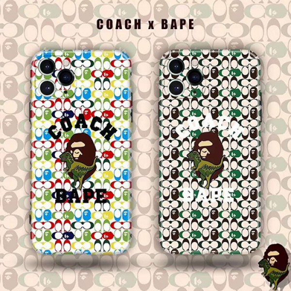 Coach/コーチメンズ iphone11/11pro maxケース 安いiphone xr/xs max/11proケースブランドジャケット型 2020 iphone12ケース 高級 人気モノグラム