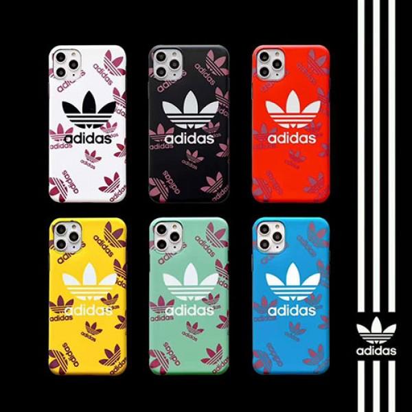 Adidas/アディダスブランドiphone 12 2020ケース激安iphone 7/8 plus/se2ケースiphone11/12pro maxジャケットスマホケース コピー