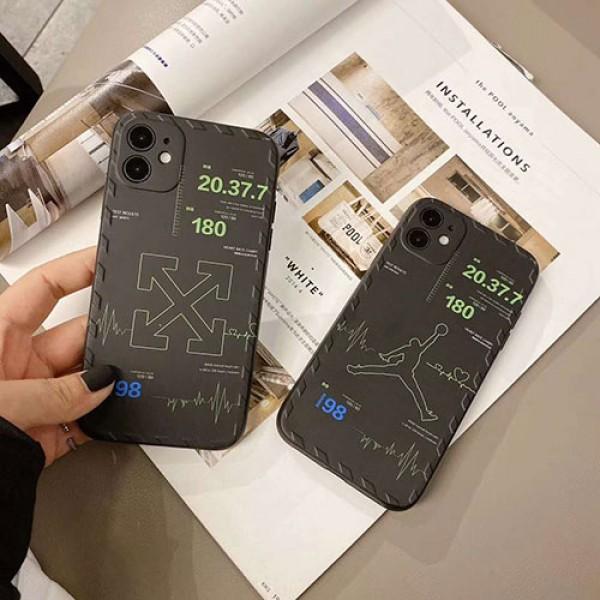 Jordan/ジョーダンブランドiphone 12ケース激安 iphone 7/8/se2ケースOFF WHITEiphone11/11 pro max ジャケットスマホケース コピー