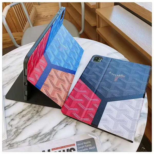 Goyard アイパッドエア1/2/3ケース 横開きipad mini 4/5カバー ipad 5/6 9.7インチ 7/8 10.2激安 すべてのipad機種対応iPad ミニ5/4/3/2/1手帳型カバー ブランドパロディ・レプリカ日本未入荷