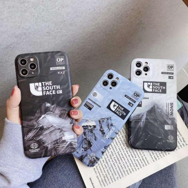 THE NORTH FACE ブランド iphone12/12mini/12pro maxケース  ビジネス ストラップ付き個性潮 iphone x/xr/xs/xs maxケース ファッションiphone 11/x/8/7スマホケース ブランド LINEで簡単にご注文可