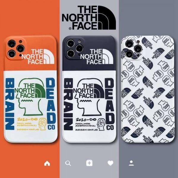 TheNorthFace シンプルiphone12/12pro/12promaxケース ジャケットアイフォン12カバー レディース バッグ型 ブランド iphone 11/x/8/7 plusケース大人気 ブランドエアーポッズ プロ収納ケースAir pods proケース保護 軽量