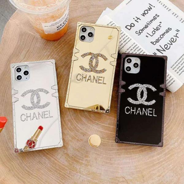 Chanel/シャネル ブランド iphone13 pro/13 mini/12 pro max/11/11pro maxケース かわいいiphone xr/xs max/11proケースブランドアイフォンxsカバー レディース バッグ型 ブランドiphone x/8/7 plus/se2ケース大人気