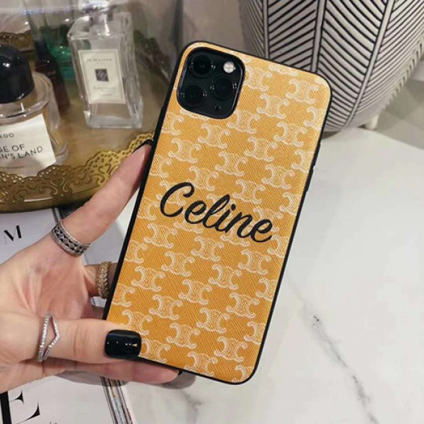 celine iphone 12 mini/12 pro/12 max/12 pro maxケース ビジネス ストラップ付きiphone 11/x/8/7スマホケース ブランド LINEで簡単にご注文可レディース アイフォンiphone xs/11/8 plusケース おまけつき