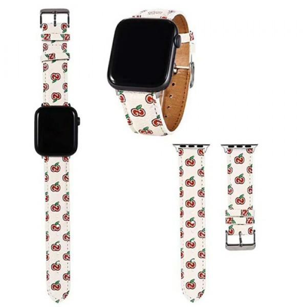 ブランド可愛いApple Watch 6/seベルトルイヴィトンgucci disney supremeアップルウォッチ バンド革ハイブランド LV Apple watch 6/5/4/se 交換ベルト