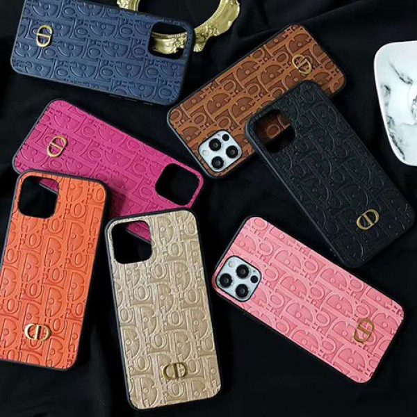 Dior/ディオール ブランド iphone12/12pro maxケース かわいいペアお揃い アイフォン iphone 11/xs/x/8/7ケースブランドモノグラム iphone12mini/12proケース ブランド