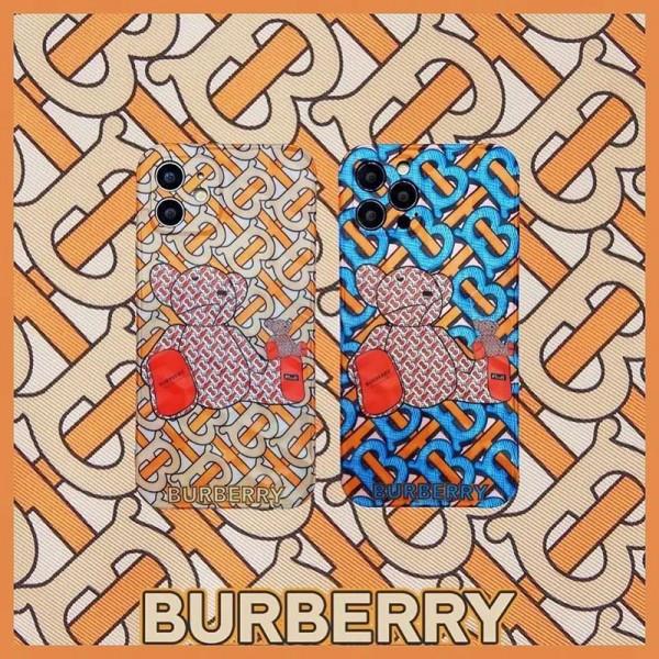 Burberry/バーバリー 女性向け iphone12/12miniケースins風  iphone 11/xr/xs maxケースケース かわいいメンズ iphone11/11pro maxケース 安いiphone12pro/12Promaxケースブランド