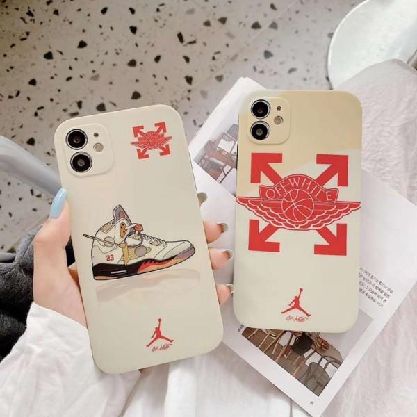 Off-White/オーフホワイト ペアお揃い アイフォン12/12 pro maxケース iphone 11/xs/x/8/7ケース男女兼用人気ブランド 個性潮 iphone x/xr/xs/xs maxケース ファッションシンプル  ジャケット