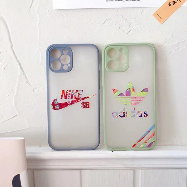 NIKE/ADIDAS ファッション セレブ愛用 iphone12/12pro maxケース 激安シンプル huawei p30/p40 mate30ケース ジャケットレディース アイフォiphone12mini/xs/11/8 plusケース おまけつきモノグラム ブランド