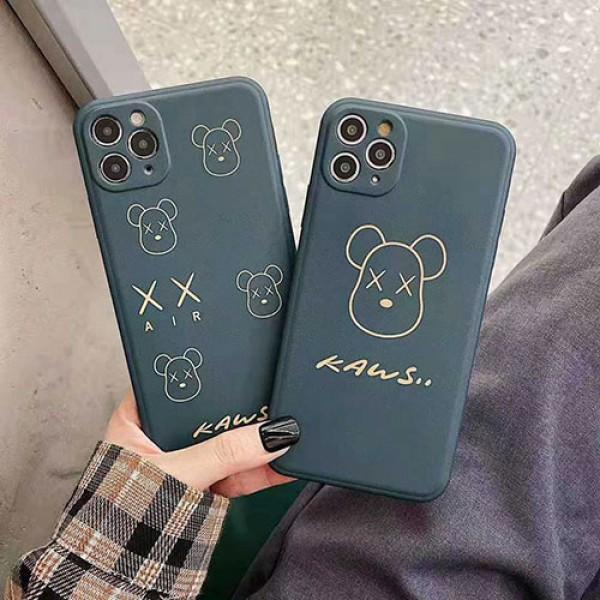 KAWS アイフォンiphone12/12mini/12pro/12promaxケース ファッション経典 メンズins風  かわいいレディース アイフォiphone12/xs/11/8 plusケース おまけつき